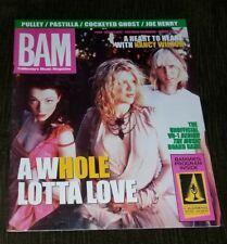 March 12, 1999 BAM Magazine HOLE Courtney Love NANCY WILSON Heart BONNIE RAITT