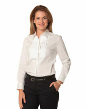Career Long Sleeve Stretch Tops & Blouses for Women