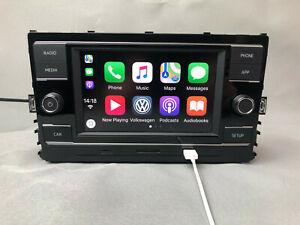 Volkswagen VW Carplay MIB2 Radio For Golf MK7 Passat B8 FM Navigation