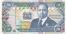 Billet banque KENYA 20 SHILLINGS 14-09-1993 état voir scan 722