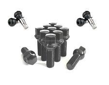 (20) 14x1.5 BLACK BALL SEAT 28MM SHANK WHEEL LUG BOLTS VALVE STEMS INSTALL KIT