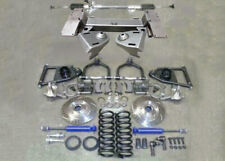 1949-1954 Chevy Car Mustang II Bolt On Front Suspension Kit Manual Stock Slotted