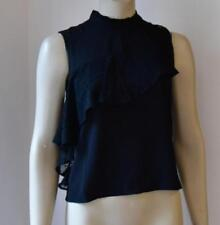 MISS SELFRIDGE BLACK TURTLE NECK TOP size 10 new with tag RRP £ 30 #42