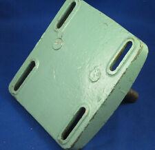 """Vtg Walker Turner 15""""  Drill Press motor mount plate, original paint, excellent"""