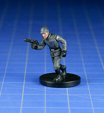 Star Wars miniatures mini Rebel Storm Imperial Officer #29  & card WOTC