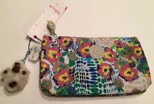 Kipling Pouch NWT Creativity Large 7x4.25 Daisy Dance Floral Multi KATIE GORILLA