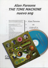 "ALAN PARSONS ""OUT OF THE BLUE"" SPANISH PROMO CDS+SHEET / HADLEY - SPANDAU BALLET"