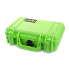 Pelican 1170 Lime Green case with foam.