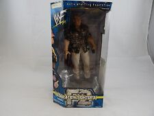 "Wwf/ Wwe The Rock 12"" Figurine Jakks Pacific Federation Fighters New Sealed Coa"