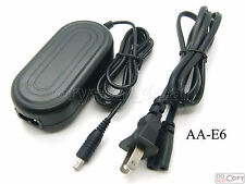 AC Adapter Power Supply For AA-E6A Samsung HMX-H100 HMX-H1000 HMX-H104 HMX-H105
