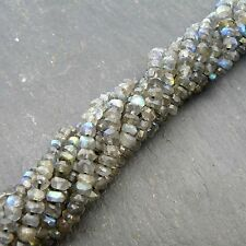 Rondelle Labradorite Loose Beads
