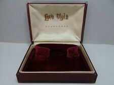 Lord Elgin Acrylic Watch Box  Vintage 1950's