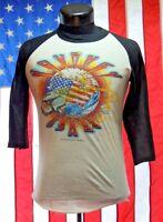 Rare VTG Journey 1983 80's Concert World Tour Tee T Shirt Med Jersey USA Rock