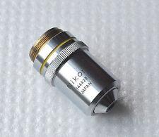 Microscopio NIKON OBIETTIVO LENS 10 0.25 160 / - (10x)
