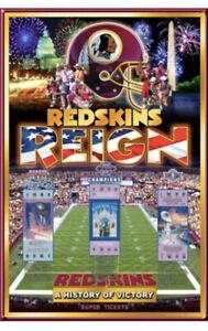 Washington Redskins 3-TIME SUPER BOWL CHAMPIONS Official NFL History Poster