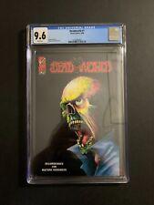 DEADWORLD #1 ARROW COMICS (W/P) 1986 CGC 9.6 NEW CASE! COLOR POP'S!