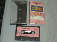 Compose - Self Titled (Cassette, Tape) Working Great Tested