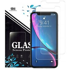 Apple iPhone 11 Pro XS Max X XR 6 6S 7 8 Plus Tempered Glass Screen Protector
