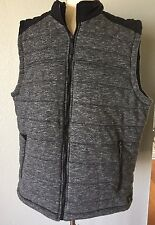 ROCK & REPUBLIC ~ NWOT ~ Men's Puffer Vest ~ Grey / Black ~ Sz XL