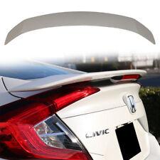 STOCK US Unpaint Honda CIVIC 10th X Sedan RS Trunk Spoiler With LED Brake 18