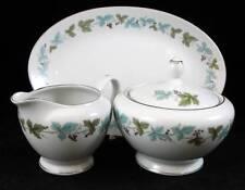Fine China of Japan VINTAGE Creamer, Sugar Bowl & Relish Dish GREAT CONDITION
