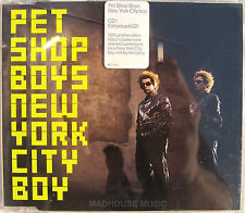 PET SHOP BOYS CD New York City Boy UK 4 Track inc Promo Video ALMIGHTY Mix Mint