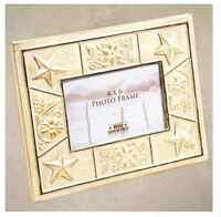 Star  Tin Tile 4x6 Picture Frame from Big Sky Carvers Home Decor