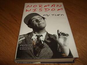NORMAN WISDOM-MY TURN-SIGNED-1ST-2002-HB-VG-CENTURY-RARE
