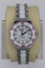 NEW Tag Heuer WAH1319.BA0868 White Ceramic Formula 1 Watch Womens Pink Diamonds
