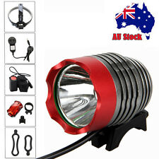8000Lm XML T6 LED Rechargeable Front Head MTB Bicycle Bike Light Headlight LAMP