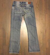 Buckle BKE Stella Denim Jeans Woman's Size 30L Bootcut Distressed
