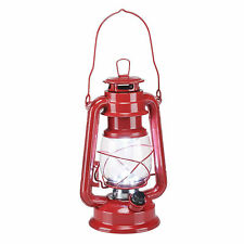 15 LED-batería camping farol jardín lámpara lámpara LED sturmlaterne rojo