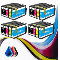 16 PK Combo Pack ink cartridge for HP950XL 951XL OfficeJet Pro 8100 8600 8610