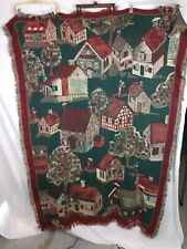 Bob Timberlake Throw Blanket Country Houses Old Salem Woven