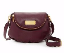 NWT Marc by Marc Jacobs Mini Natasha Leather Dark Wine Crossbody