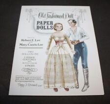 Vtg 1977 Uncut ROBERT E. LEE & MARY CUSTIS LEE Paper Dolls PEGGY JO ROSAMOND