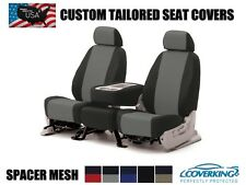 COVERKING SPACER MESH CUSTOM FIT SEAT COVERS FRONT for NISSAN TITAN