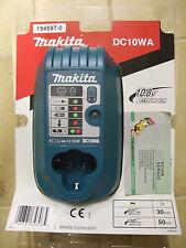 CARICABATTERIA ORIGINALE MAKITA DC10WA LITIO 10,8V BL1013 HP330 DF330 TD090