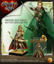 Avatars of War AOW38 WOOD ELF HERO Model High Quality Resin Kit Free Shipping