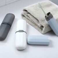 Portable Travel Toothbrush Toothpaste Holder Storage Box Case Pencil Container