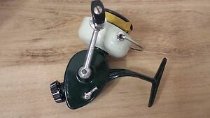RARE VINTAGE NEW  SPINNING REEL ABU 444A WITH EXTRA SPOOL