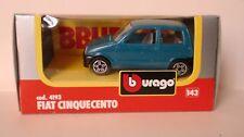 BBURAGO 1/43 - 4193 FIAT CINQUECENTO 500