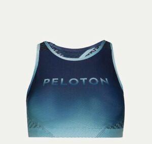 Peloton Faded Stripe Green Bra WITH Size XL