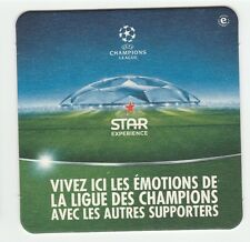 New ★ HEINEKEN ★ Star UEFA Champions league Sous bock coaster beer bier deckel