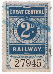 (I.B) Great Central Railway : Newspaper Parcel 2d