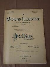 LE MONDE ILLUSTRE 2907 Decembre 1912 SALON DE L'AUTOMOBILE