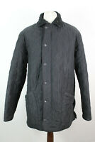 BARBOUR Microfibre Polarquilt Black Jacket Size L