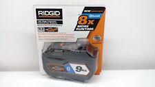 New Ridgid  AC8400809 18V 18-Volt OCTANE Bluetooth 9.0 Ah High-Capacity Battery