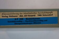 Super 8 Film S8 mm  Bodenturnen FWU Lehrer Sportunterricht Sport 70er  326