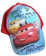 Disney Pixar Cars One Size Childs Baseball Cap Turquoise/Red